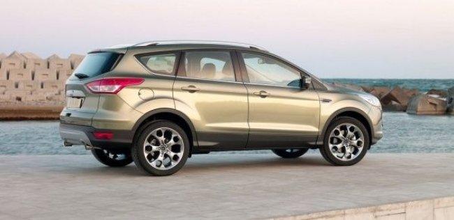 Украинские цены на Ford Kuga 2013 + первый видео-тест!