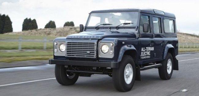 Land Rover Defender может стать электрокаром