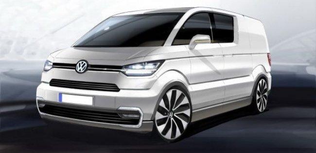 Volkswagen привезет в Женеву мини-версию Transporter