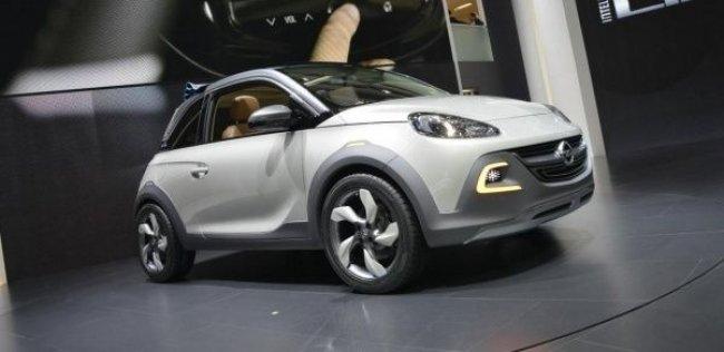 Opel официально представил вседорожный сити-кар