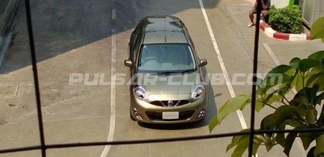 Nissan Micra изменили внешность