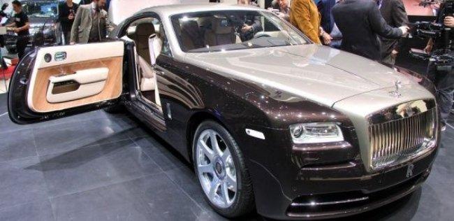 Rolls-Royce задумался об открытой версии купе Wraith