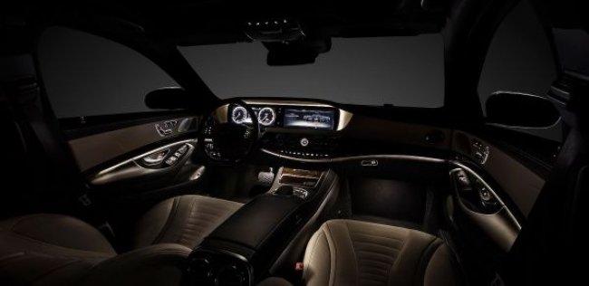 У нового Mercedes-Benz S-Class будет 156 кнопок в салоне