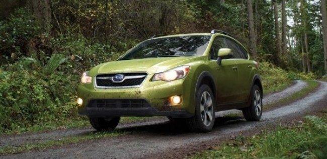 Первым серийным гибридом Subaru станет кроссовер XV