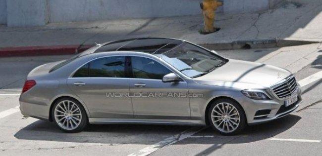 Новый Mercedes-Benz S-класса сможет ездить без топлива