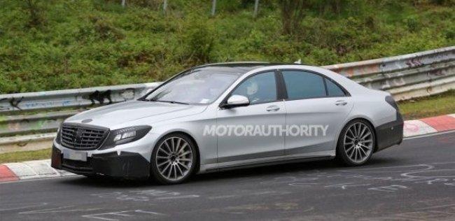 Mercedes-Benz начал тесты заряженной версии нового S-Class