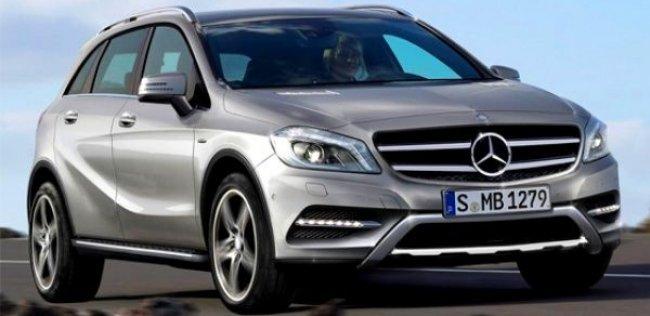 Mercedes выпустит больше переднеприводных моделей