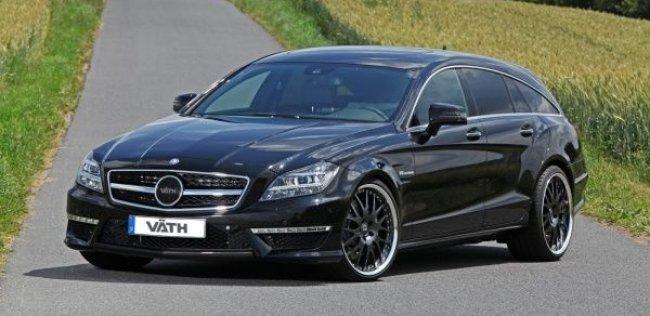 Mercedes-Benz CLS 63 AMG от Vath: тюнинг по цене нового авто