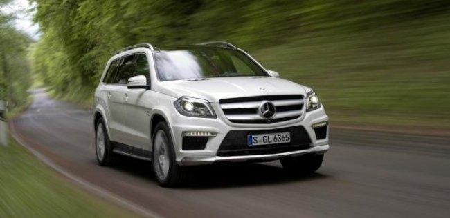 Mercedes-Benz GL-класса выступит донором для купеобразного кроссовера
