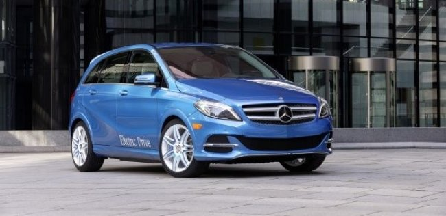 Mercedes-Benz B-класса Electric Drive: лучше, чем у конкурентов