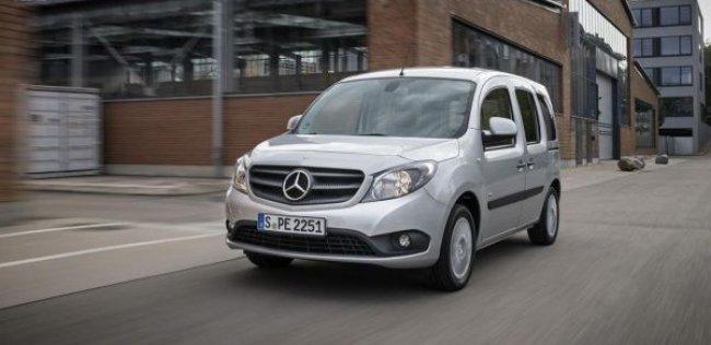 Бюджетный фургон Mercedes-Benz примет на борт семерых