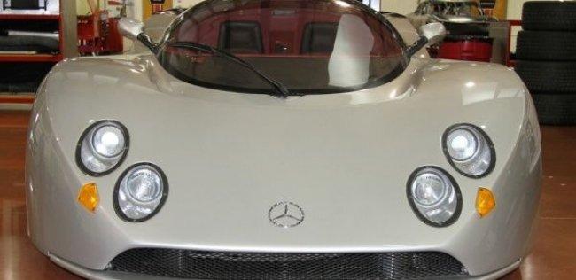 Выставлен на продажу неизвестный гиперкар 90-х Mercedes Lotec C1000