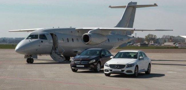 Mercedes-Benz GLA и С-class - двойная премьера в Украине