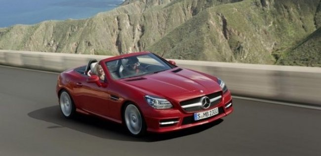 Mercedes-Benz SLK-класса возьмет на вооружение гибридную установку