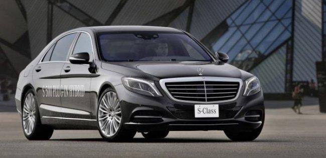 Розеточный Mercedes-Benz S-класса доберется до прилавков летом