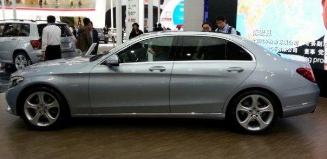 Пекин-2014: Mercedes-Benz C-класса подогнали под нужный размер