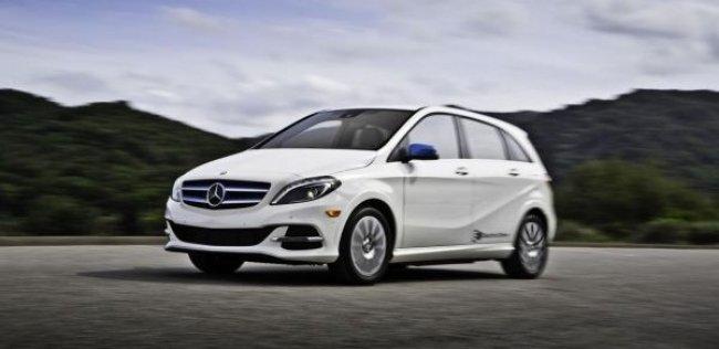 Mercedes-Benz B-класса Electric Drive вышел дороже BMW i3