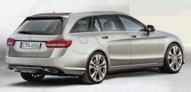Дебют универсала Mercedes-Benz C-класса не за горами