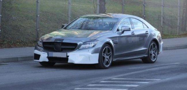 Рестайлинговый Mercedes-Benz CLS-класса представят на Фестивале скорости