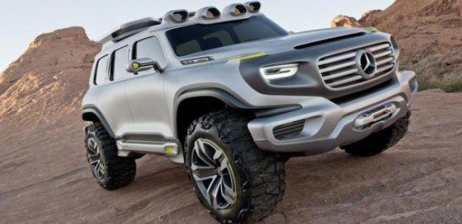 Mercedes-Benz задумал построить семиместный кроссовер GLB-класса