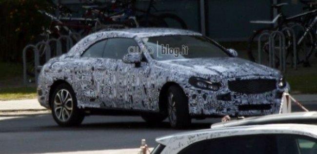 Шпионы сфотографировали кабриолет Mercedes-Benz C-Class