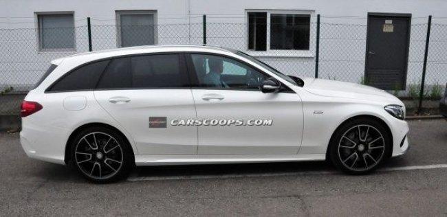 Фотошпионы рассекретили новый AMG-вариант «Мерседеса»