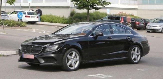 Mercedes CLS получил измененную внешность