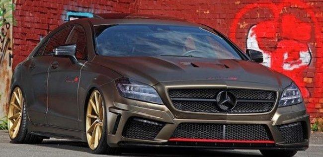 Дизельный Mercedes CLS получил уникальный набор доработок