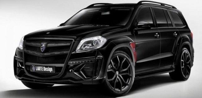 Larte Design добавили Mercedes GL брутальности
