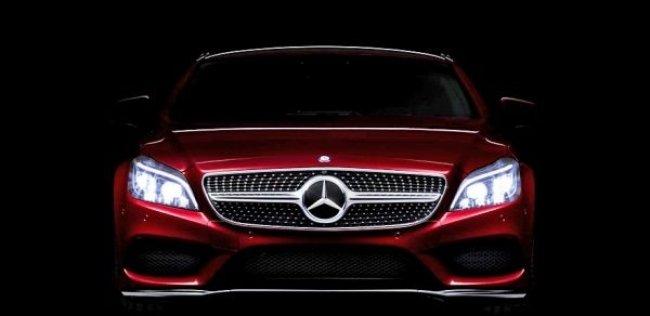 Обновлённый Mercedes CLS получит «умные фары»