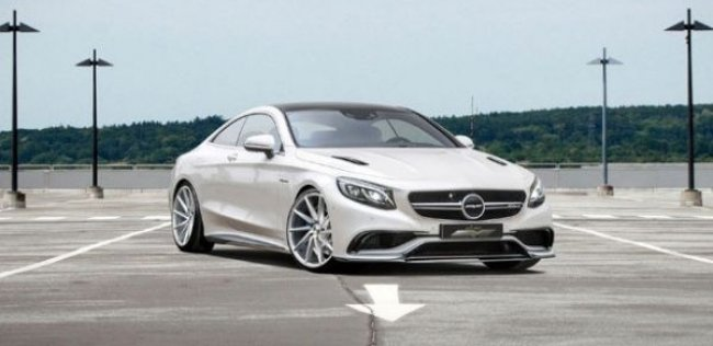 Немцы довели мощность купе Mercedes-Benz S 63 AMG до 850 сил