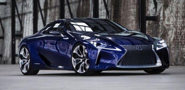 Концептуальный Lexus LF-LC пойдет в серийное производство