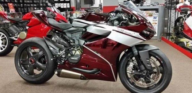 Спортбайк Ducati 1199 Panigale Panti-Dropper