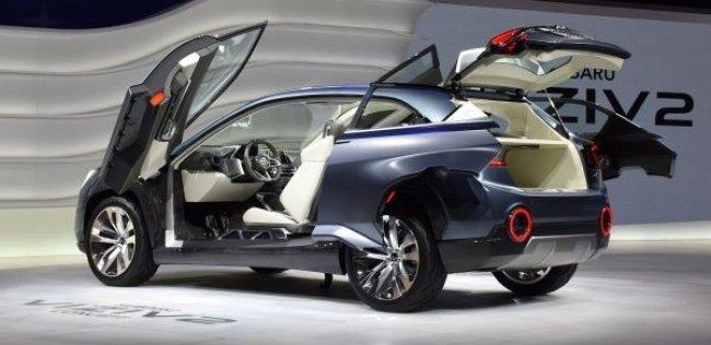 На Московском автосалоне покажут два концепта Subaru