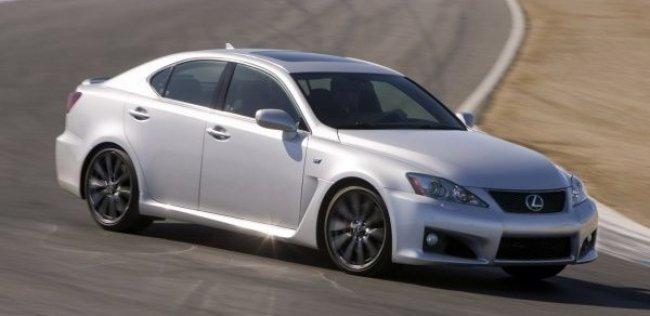 Lexus уберет из линейки «заряженный» седан IS F