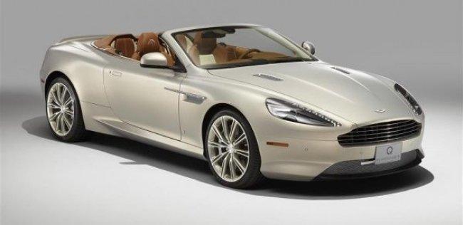 Aston Martin создал особый кабриолет DB9 в честь конного шоу