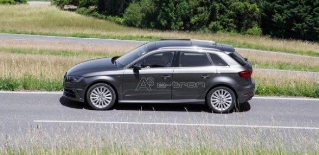 Audi начал продажи A3 Sportback e-tron