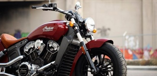 Бренд Indian Motorcycle представил новый мотоцикл Indian Scout 2015
