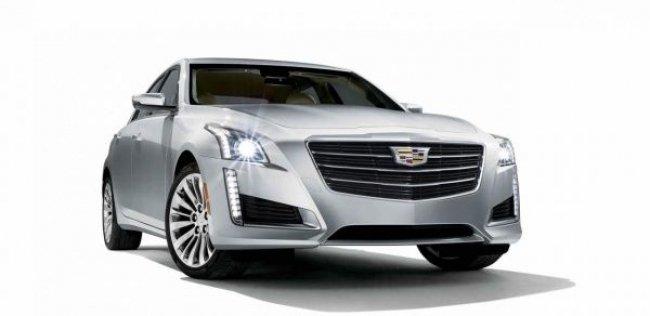 Cadillac рассекретил обновленный CTS