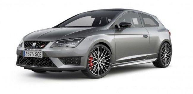Для Seat Leon Cupra подготовили трековый спорт-пакет