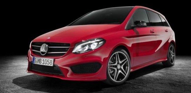 Mercedes-Benz показал обновленный B-Class