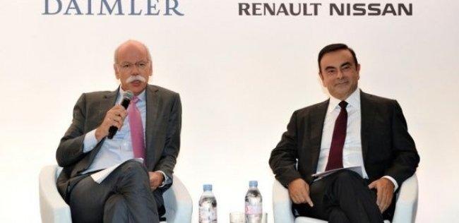 Renault-Nissan и Mercedes-Benz будут совместно строить премиум-кары