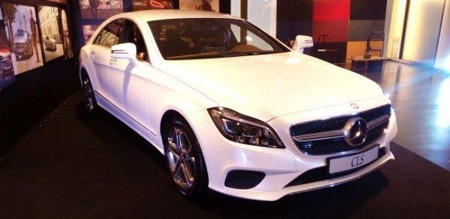 Обновленный Mercedes-Benz CLS приобщился к миру высокой моды