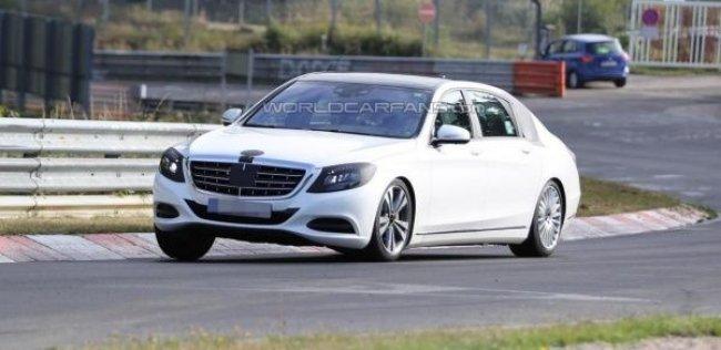 Mercedes S-Class Maybach представят через несколько недель