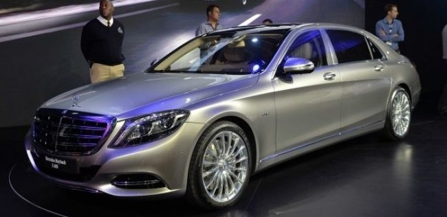 Mercedes-Maybach дебютировал в Китае и США