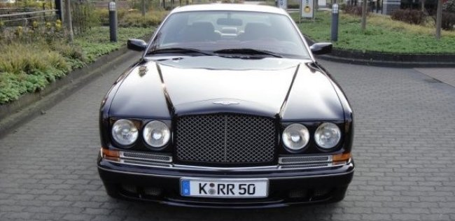 Bentley Continental Майкла Тайсона уйдет с молотка