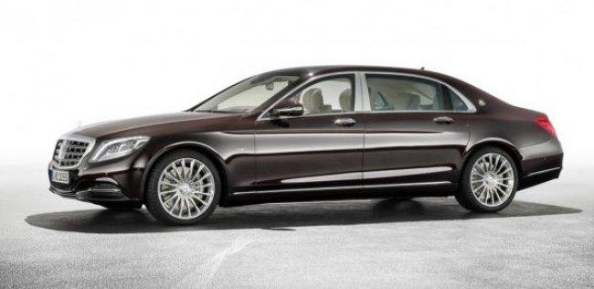 Назначена цена на лимузин Mercedes-Maybach