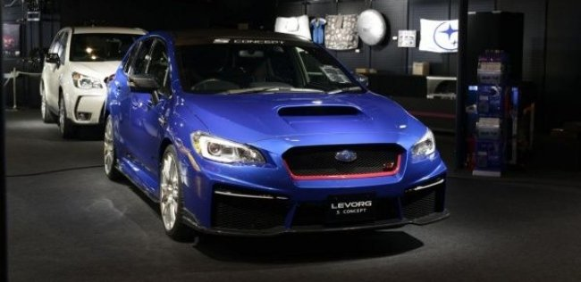 Subaru показала в Токио концепт Levorg S