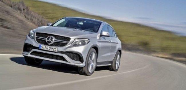 Mercedes-Benz «зарядил» конкурента BMW X6
