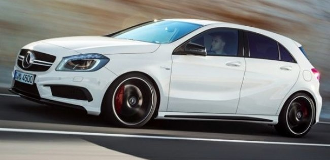 Mercedes-Benz A 45 AMG вернет себе звание мощнейшего хот-хэтча